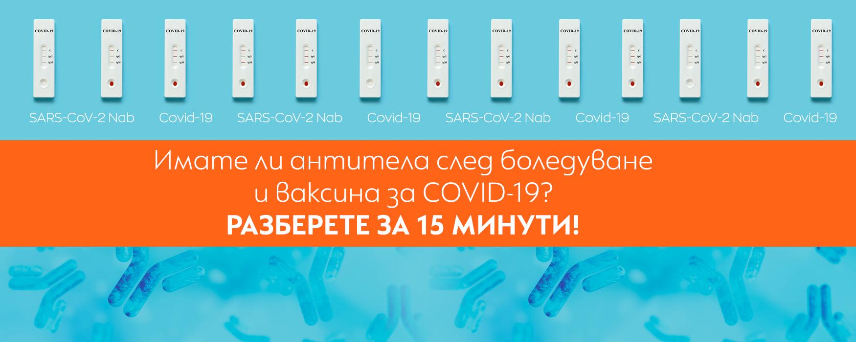 Антитела за  COVID-19